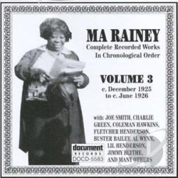 Rainey, Ma - Complete Recorded Works, Vol. 3 (1925 - 1926) CD Cover Art