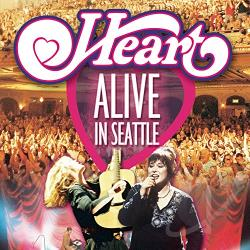 Heart - Alive in Seattle CD Cover Art