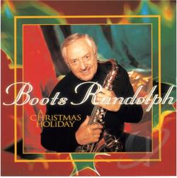 Randolph, Boots - Christmas Holiday CD Cover Art