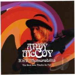 Mccoy, Andy - RNR Memorabilia: The Best Solo Tracks So Far CD Cover Art