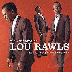 Rawls, Lou - Very Best Of Lou Rawls: You'll Never Find Another CD Cover Art