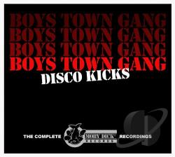 Boys Town Gang - Disco Kicks: The Complete Moby Dick Recordings CD Cover Art