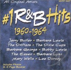 #1 R&B Hits: 1960-1964 CD Cover Art
