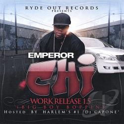 Emperor Chi - Work Release 1.5 CD Cover Art