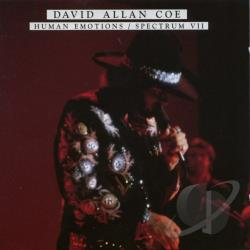 Coe, David Allan - Human Emotions/Spectrum VII CD Cover Art
