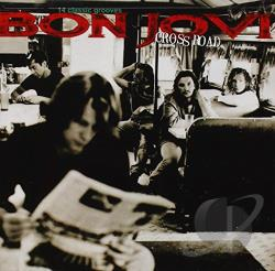 Bon Jovi - Cross Road: The Best of Bon Jovi CD Cover Art