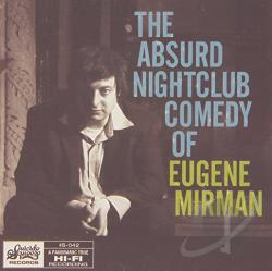 Mirman, Eugene - Absurd Nightclub Comedy of Eugene Mirman CD Cover Art