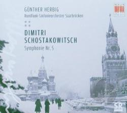 Her / RSO Saarbrucken (orch) - Schostakowitsch: Symphonie Nr. 5 CD Cover Art