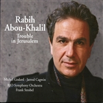 Abou-Khalil, Rabih - Trouble in Jerusalem CD Cover Art
