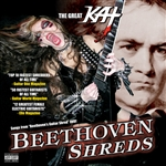 Great Kat - Beethoven Shreds CD Cover Art