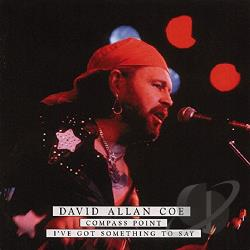 Coe, David Allan - Compass Point/I've Got Something to Say CD Cover Art