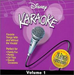Disney - Disney Karaoke, Vol. 1 CD Cover Art