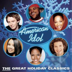 American Idol - American Idol: The Great Holiday Classics CD Cover Art