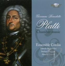 Ensemble Cordia / Platti - Giovanni Benedetto Platti: Chamber Music CD Cover Art