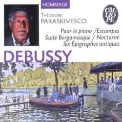 Paraskivesco, Theodore - Debussy: Pour Le Piano/Estampes CD Cover Art