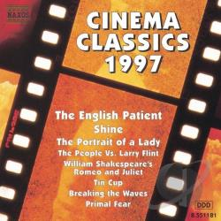Cinema Classics 1997 CD Cover Art