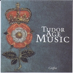 Forbury & Holbein Consorts - Tudor Age Music CD Cover Art