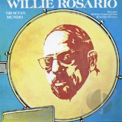 Rosario, Willie - Gracias Mundo CD Cover Art
