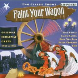 Paint Your Wagon / Can-Can CD Cover Art