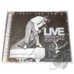 Lewis, Jerry Lee - Live CD Cover Art