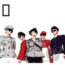 Shinee - Everybody: 5th Mini Album CD Cover Art