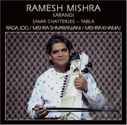 Ramesh Mishra - Raga Jog CD Cover Art
