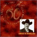 De Monteclaro, Lorenzo - 50 Anos Sony Music Mexico CD Cover Art