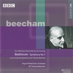 Addison / Beecham / Beethoven / Mendelssohn / Rpo - Beecham Conducts the 1959 Royal Festival Hall Concert CD Cover Art