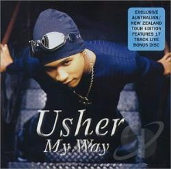 Usher - My Way/Usher Live CD Cover Art