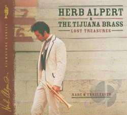 Alpert, Herb / Herb Alpert & the Tijuana Brass - Lost Treasures CD Cover Art