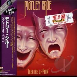 Motley Crue - Theatre Of Pain CD Cover Art