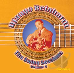 Reinhardt, Django - Swing Sessions, Vol. 4 CD Cover Art