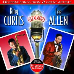 Curtis, King - King Curtis Meets Lee Allen CD Cover Art