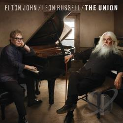 John, Elton / Russell, Leon - Union CD Cover Art