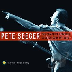 Seeger, Pete - Complete Bowdoin College Concert 1960 CD Cover Art