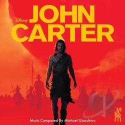 Giacchino, Michael - John Carter CD Cover Art