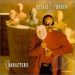 Wonder, Stevie - Characters CD Cover Art