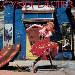 Lauper, Cyndi - She's So Unusual CD Cover Art