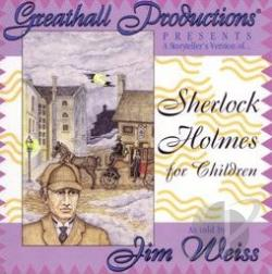 Weiss, Jim - Sherlock Holmes For Children CD Cover Art