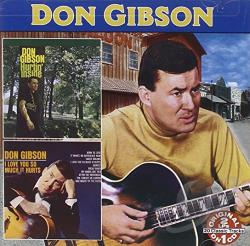 Gibson, Don - Hurtin' Inside/I Love You So Much It Hurts CD Cover Art