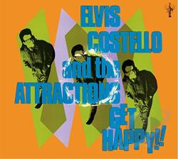 Costello, Elvis / Costello, Elvis & The Attractions - Get Happy!! CD Cover Art