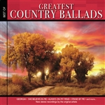 Greatest Country Ballads CD Cover Art
