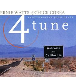 Watts, Ernie - Fourtune CD Cover Art
