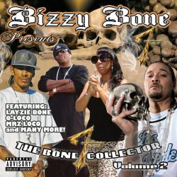 Bone, Bizzy - Bizzy Bone Presents the Bone Collector Volume 2 CD Cover Art