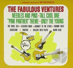 Ventures - Fabulous Ventures CD Cover Art
