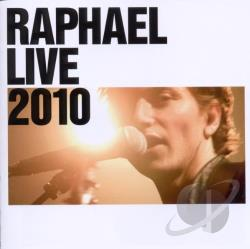 Raphael - Raphael Live 2012 CD Cover Art