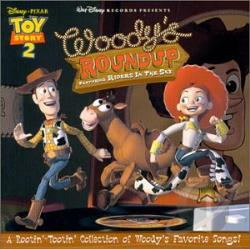Riders In The Sky - Woody's Roundup: A Rootin' Tootin' Collection Of Woody's Favorite Songs CD Cover Art