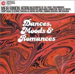 Rimon, Meir - Dances, Moods & Romances CD Cover Art