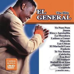 El General - Hits CD Cover Art