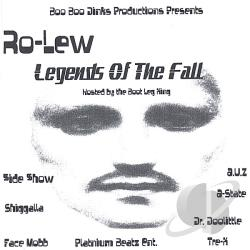 Ro-Lew - Legends Of The Fall CD Cover Art